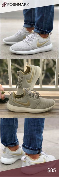 75c64467a6e7 NWT Nike Roshe Two Light Bone WMNS Price is firm!🔥 brand new with box