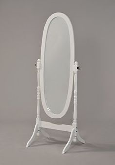 Wooden Cheval Floor Mirror, White Finish by eHomeProducts... https://www.amazon.com/dp/B00X9UN5BO/ref=cm_sw_r_pi_dp_x_qUVozbVQVMJ7E