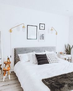 A little throwback... I still can't decide which is my favorite part of this bedroom. Which element you think is the star here? 🤩 ~ ~… Clean Bedroom, Interior Decorating, Interior Design, Art Deco Fashion, Bedroom Decor, Cozy, House Design, Living Room, Furniture