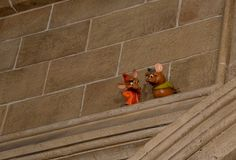 """Secrets from Each Land of Disney's Magic Kingdom- """"Look for Jaq and Gus (Cinderella's mouse-friends) in the rafters of the lobby."""" of Cinderella's Castle"""