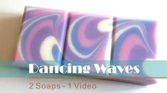 Video: Dancing Waves - Cold Process Soap - Fraeulein Winter