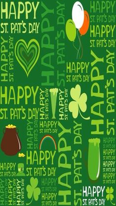 Happy St Patricks Day Saint Luck Of The Irish Wallpaper San Patrick Pats Paddys