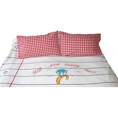 Found it at AllModern - Doodle Cotton White Duvet