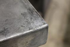 Pantry tables - VanHook & Co.: Aging Zinc & DIY Zinc countertops