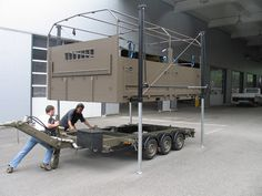 HETEK - Functional units Car Trailer, Camper Trailers, Tractor Accessories, Truck Flatbeds, Cargo Aircraft, Container Design, Expedition Vehicle, Big Guns, Futuristic Technology