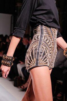 leather embellished