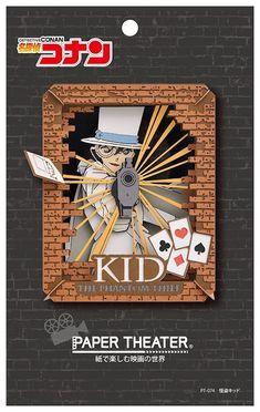 Ensky DETECTIVE CONAN Paper Theater Phantom Thief Kid Craft Kit from Japan F/S #Ensky