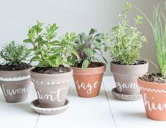 Весенний DIY: 28 идей как украсить глиняное кашпо – Вдохновение