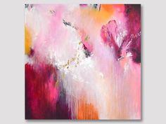 Große abstrakte Malerei abstrakte Kunst XL bunte Grafik