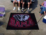 University of Alabama Nylon NCAA Outdoor Tailgater Mat. $99.99 Only
