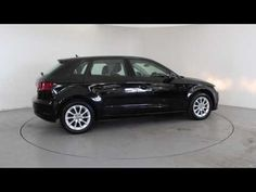 AUDI A3 2.0 TDI SE SPORT-BACK - Satellite Navigation - Air Conditioning - Alloy Wheels - SD Card | In black with 63000 miles on the clock. Click here to see ...
