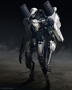 Check out this Humanoid Mecha Design by Bruno Gauthier Leblanc! http://goo.gl/uZKuni Bruno Gauthier Leblanc is a professional concept artist currently working at Eidos Montreal. Bruno has worked on...