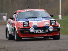SJW 548 S , 1978 Works TR 8 , the first car to be built in a left hand drive shell and used by Simo Lampinen . Per Eklund and Jean luc Therier, was converted to RHD , sold to Ken Wood who with Peter Brown won the 1982 Scottish rally championship in it. Cars Uk, Race Cars, Coventry, Old School Cars, Performance Cars, Rally Car, Car And Driver, Car Pictures, Car Pics