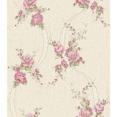A pretty floral and lace ribbon trail on a heavily textured background. Shown here in the pink and cream colour way. Other colour ways and coordinating plain available. Please request a sample for true colour match. Tile Transfers, Albany Wallpaper, Buy Wallpaper Online, Cream Wallpaper, Lace Ribbon, Textured Background, True Colors, Cream Colour, Colour Match