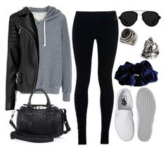 """""""Style #9702"""" by vany-alvarado ❤ liked on Polyvore featuring Aubin & Wills, Topshop, NIKE, AllSaints, Vans, Alexander Wang, River Island and 3.1 Phillip Lim"""