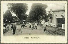 Soerabaia Toendjoengan 1880-1900.