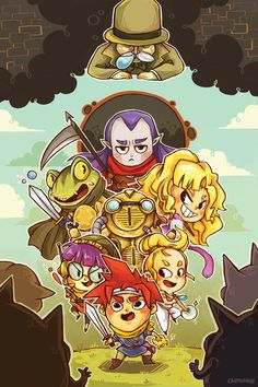 Chrono Trigger cast by Sara Ho