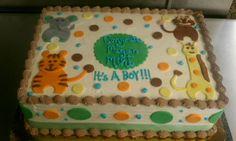 #sweet220 #babyshowercakes #jungle #monkeys #animals #junglewalk #coolcakes #babyboy