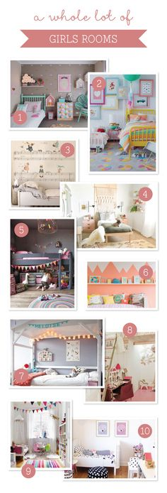 10 Gorgeous Girl's Rooms ~ Tinyme