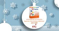 "Christmas Offer έως 24 Δεκεμβρίου!  Εξαργύρωσε τον κωδικό ""XMAS20"" στο site μας και βελτίωσε τα Αγγλικά σου Online μόνο με 49€ για 1 Έτος!"