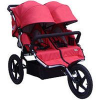 Tike Tech Twin X3 Sport Jogger Stroller - Red