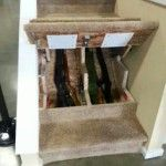 Stairs Gun Safe... Some really good ideas on this site!