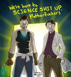 The Science Bros are here
