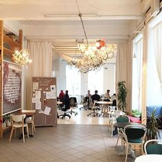 This is a guide for creatives who love to work from cafes in Vienna http://townske.com/guide/13679/vienna-for-creatives