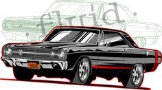 1968 Dodge Dart GTS  ©  Fluid ©  www.fluiddsn.com