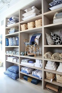 linen closet of mine: please look like this one! via serena and lily hamptons habituallychic