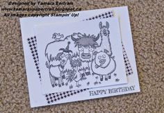 From the Herd; 2015 Occasions Catalogue; Quick and Easy; Stampin' Up!; Tamara's Paper Trail
