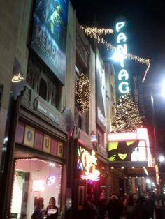 Hollywood, Opening Night.