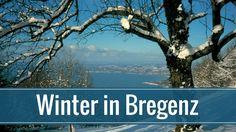 Vom Pfänder kann man im Winter bis nach Bregenz rodeln. Desktop Screenshot, Bregenz, Winter Time, Time Out, Hiking, Pretty Pictures