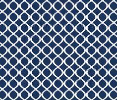 Fish Net-Navy fabric