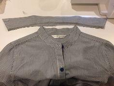 Remake Clothes, Kids Wear, Shirt Dress, Sewing, Mens Tops, Handmade, How To Wear, Shirts, Dresses