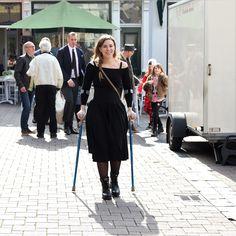 Woman on crutches Crutches, Poses, Amp, Woman, Sexy, Dresses, Fashion, Figure Poses, Vestidos