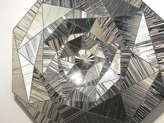 Cosmic Geometry: The Life and Work of Monir Shahroudy Farmanfarmaian, Monir Shahroudy Farmanfarmaian bio (Wikipedia), Exhibition at the Third Line Mirror Artwork, Mirrors, Mirror Mosaic, Iranian Art, Texas, Aboriginal Art, Teaching Art, Geometric Art, Islamic Art