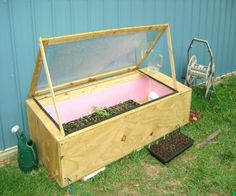 DIY Greenhouse...only $50! Wow.