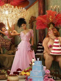 LaChapelle Studio - Portraits - Rihanna