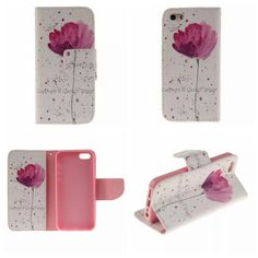 For Apple iPhone 5 5S SE Hot Wallet Flip PU Leather Magnetic Case with Card Holder Smart Stand Skin Bags Case Cover