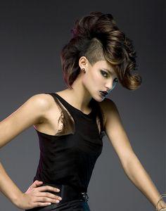 Rush  Electrify  Hair: Matt Stopps  Photography: Steliano  Make-Up: Kathryn Hanrahan