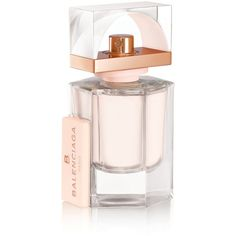 B.balenciaga Skin Eau De Parfum 30 Ml Fragrance (€79) ❤ liked on Polyvore featuring beauty products, fragrance, pale pink, vetiver fragrance, green tea fragrance, balenciaga perfume, eau de parfum perfume and eau de perfume