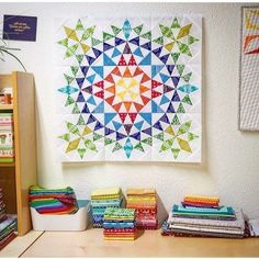 1,562 mentions J'aime, 22 commentaires – Southern Fabric Quilting (@southernfabric) sur Instagram : « Another pretty room with another pretty mini quilt. Thank you @schnigschnagquiltsandmore.… »