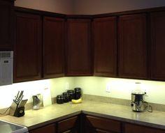 Kitchen Under Cabinet Professional Lighting Kit WARM WHITE LED Strip Tape Light #21LED #Modern