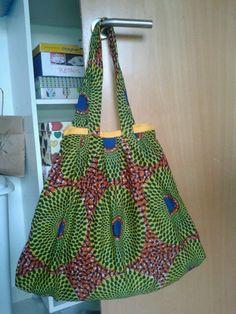 Bolso tela africana