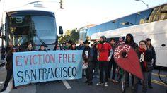 Desde hace cinco años, aproximadamente, en San Francisco hay gente que se dedica a paralizar e impedir la salida de los autobuses que Google, Apple y otras compañías tecnológicas ponen a sus empleados...