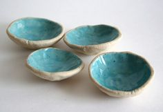 Little Stacking Dish Set - Turquoise