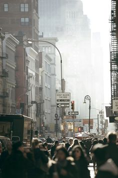 I think this is a great way of capturing the city and the busyness of the average person there
