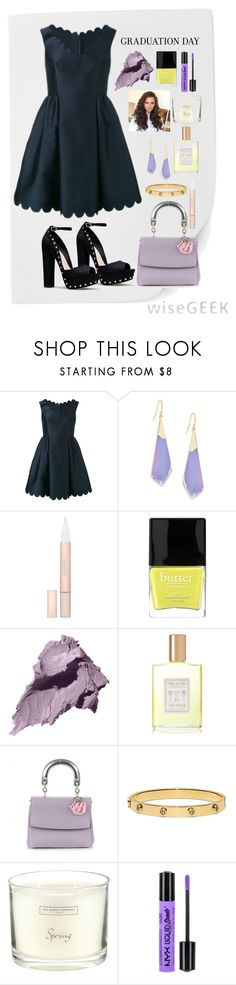 """Graduation Day Style"" by annasokolove on Polyvore featuring мода, RED Valentino, Alexis Bittar, L'Oréal Paris, Butter London, Bobbi Brown Cosmetics, Coqui Coqui, Christian Dior, Tory Burch и The White Company"