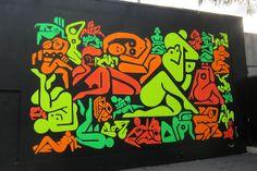Miami - Wynwood: Wynwood Walls - Ryan McGinness' 33 Women by wallyg, via Flickr